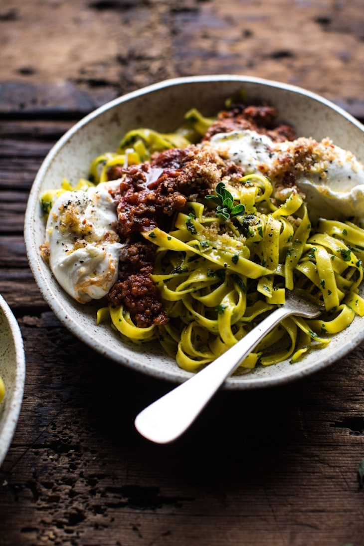 topChorizo-Bolognese-Pasta-with-Sourdough-Pangrattato-Burrata-6