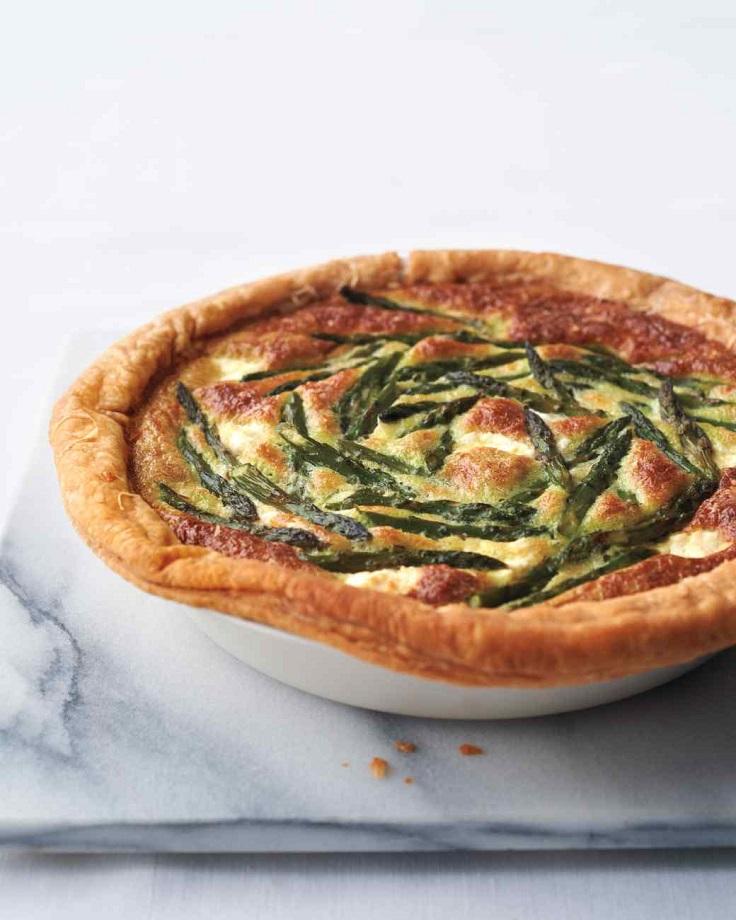 Asparagus-Custard-Tart