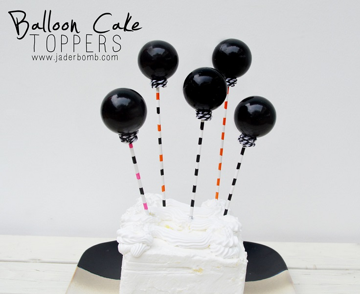 Top 10 DIY Cute Cake Toppers