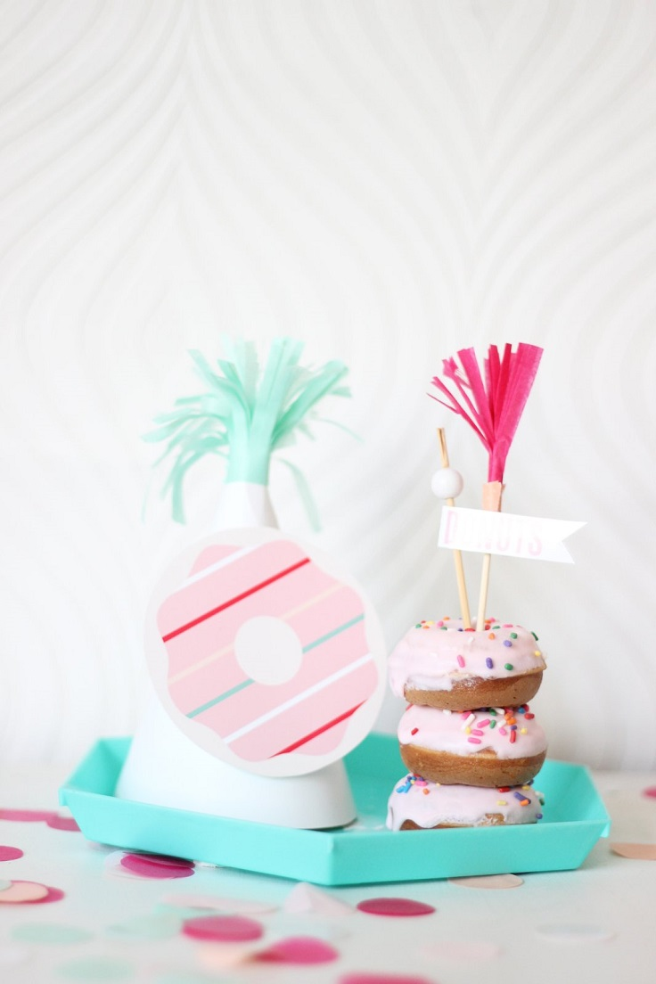 Donut-Party-Hat