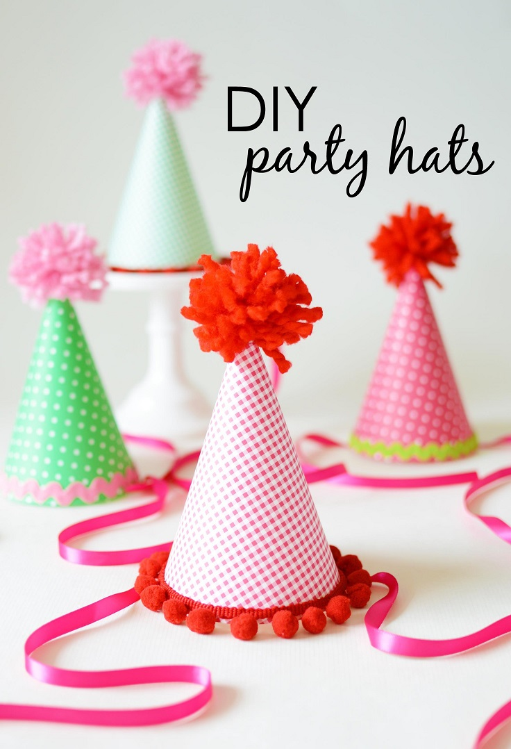 Top 10 DIY Adorable Party Hats