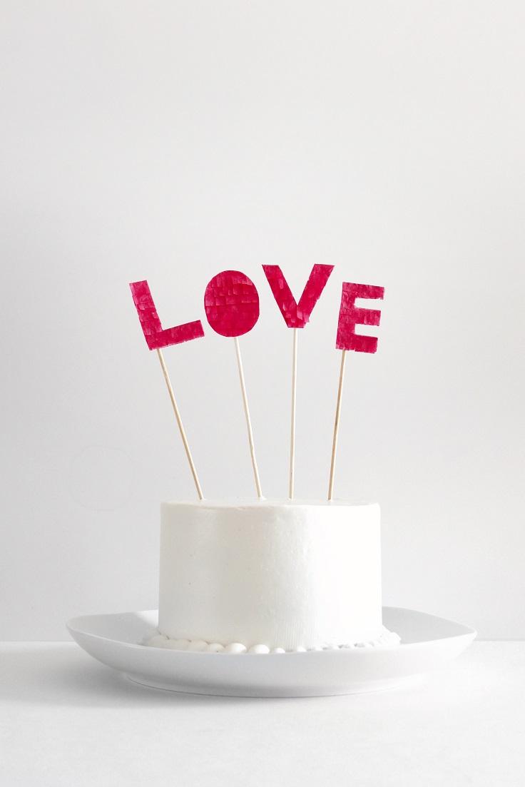 Top 10 DIY Cute Cake Toppers