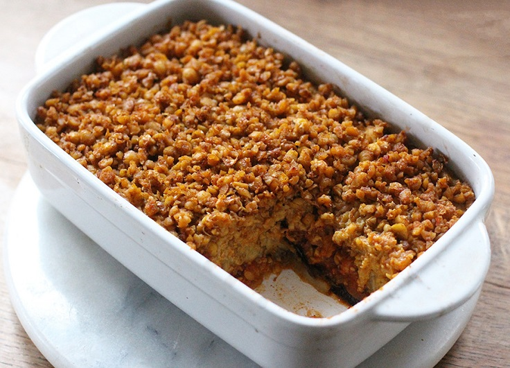 Marroccan-Chickpea-Bake