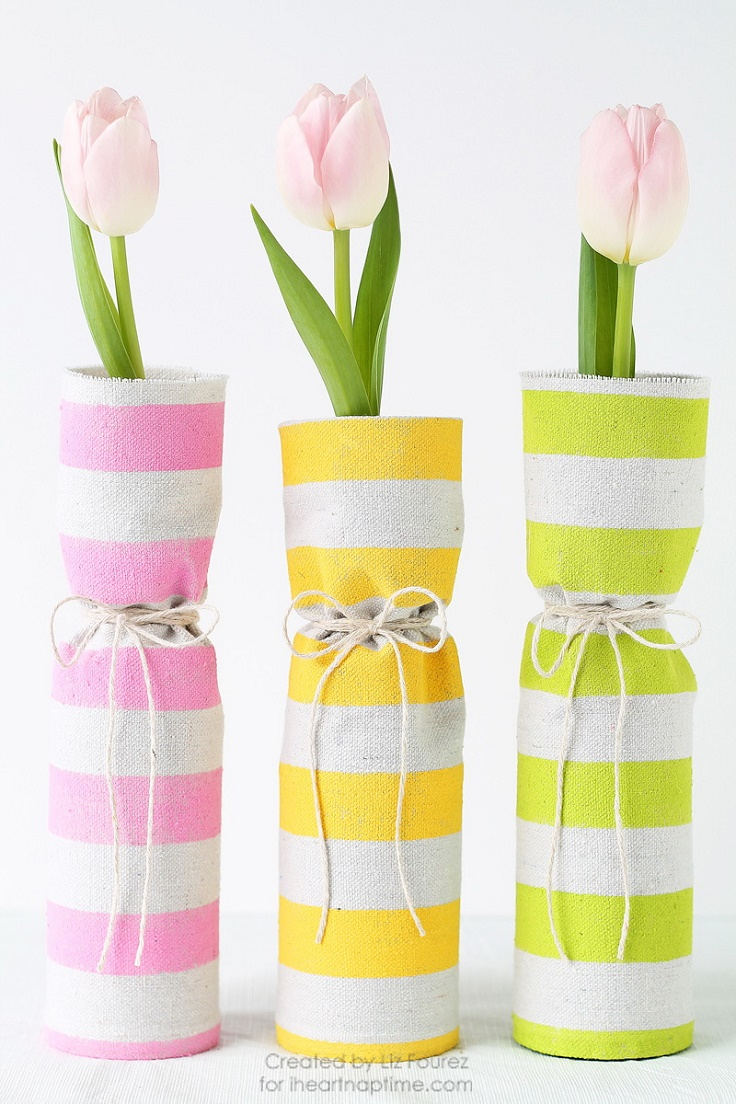 Easy Diy Fabric Wreath For Summer: Top 10 Cute And Easy DIY Spring Decorations