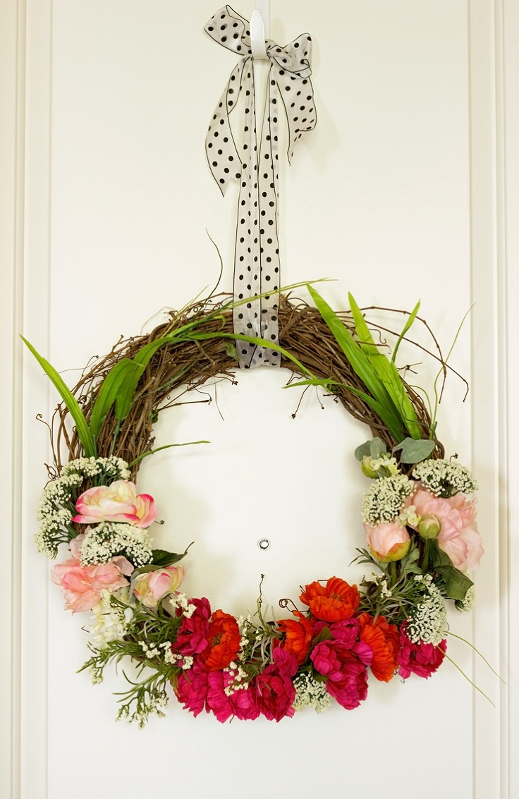 Pretty-in-Pink-Polka-Dot-Spring-Wreath