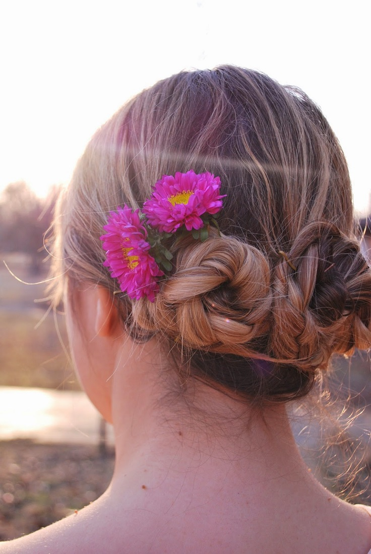 Triple-Braided-Bun