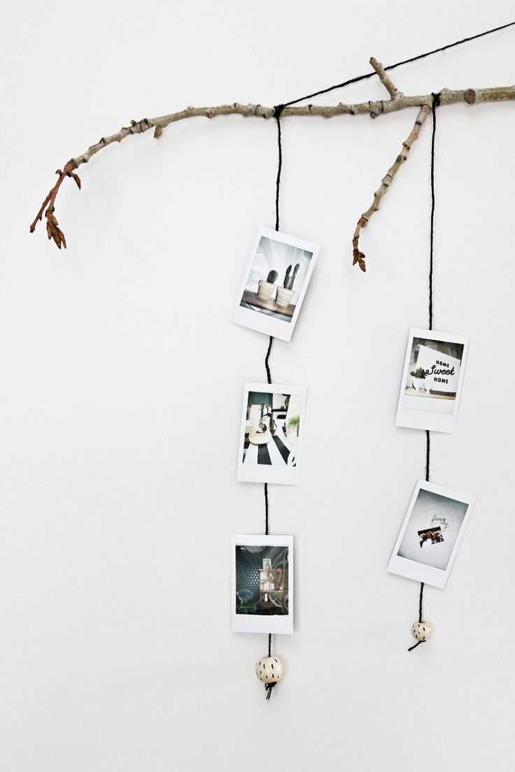 Bohemian-Inspired-Branch-Picture-Hanger