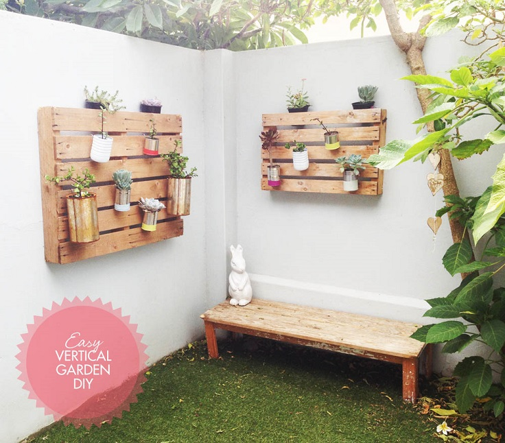 Easy Landscaping Ideas You Can Try: Top 10 DIY Vertical Garden Ideas To Try This Spring
