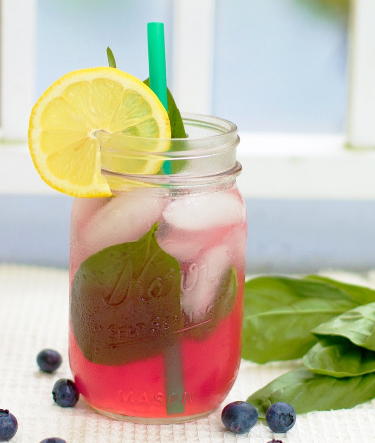 Blueberry Meyer Lemonade