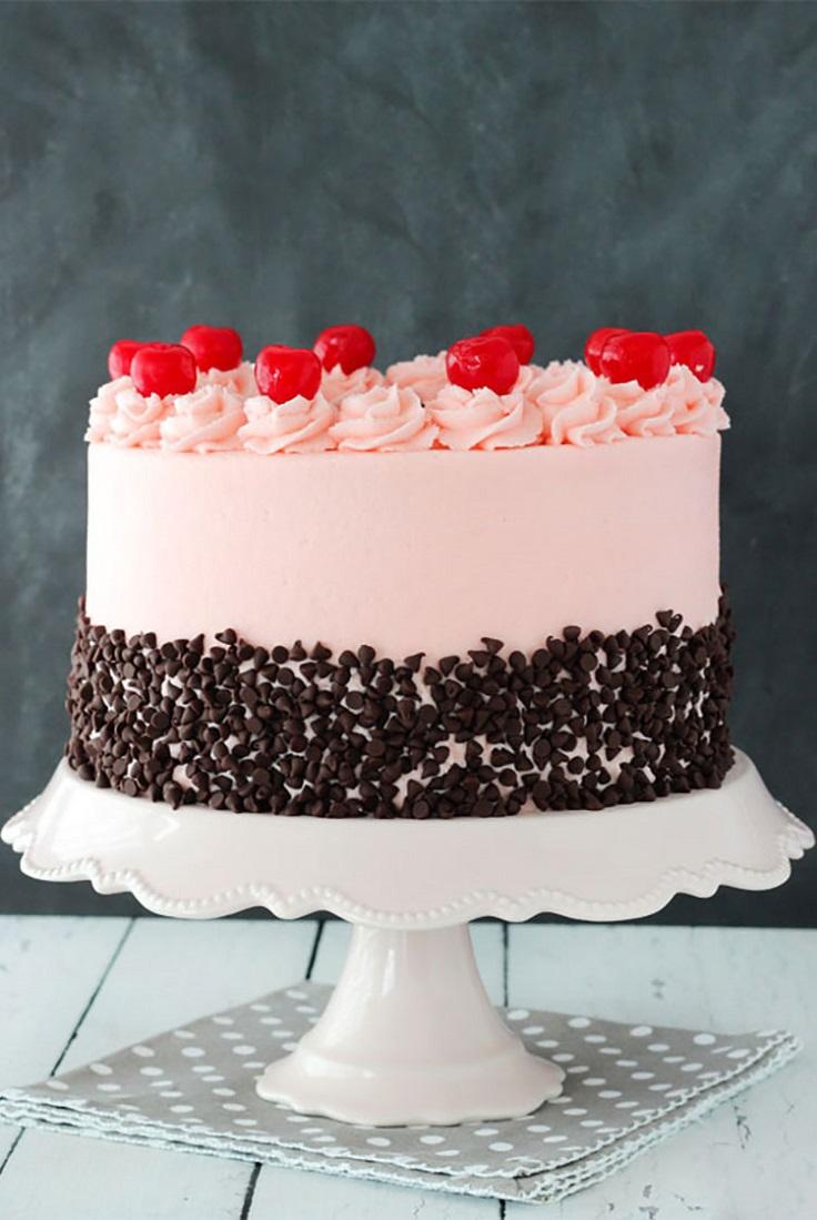 Cherry-Chocolate-Chip-Cake