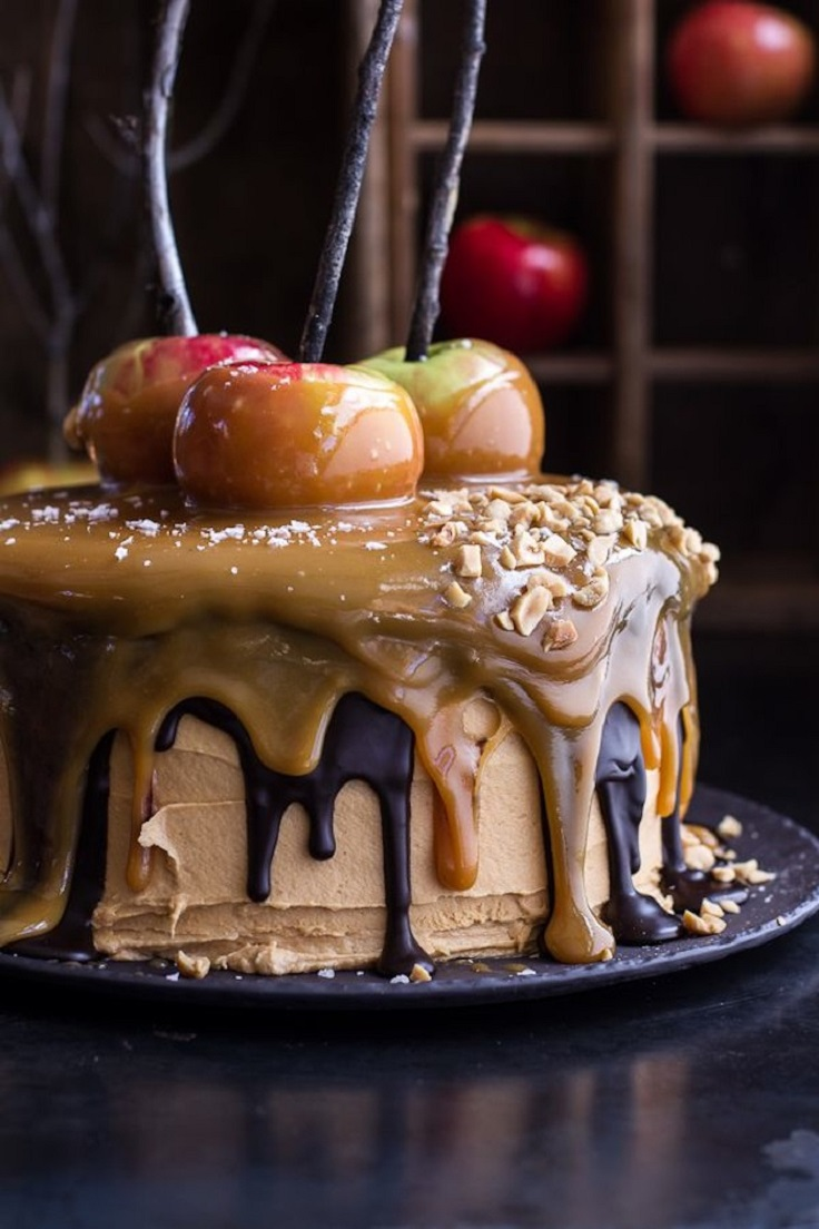 Apple Cake With Icing On Top
