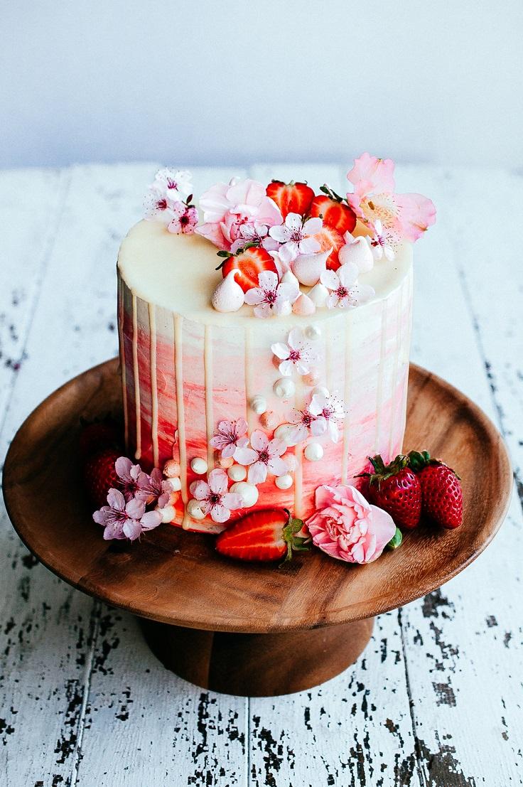 Strawberry-and-Vanilla-Bean-Cake