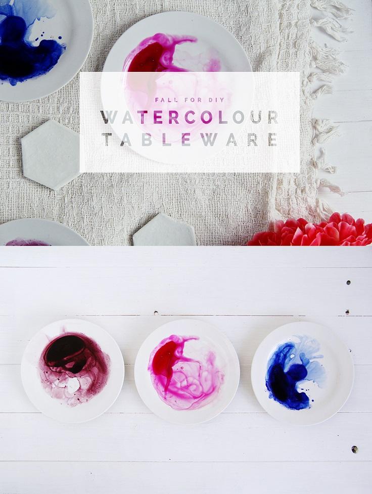 Watercolour-Tablewear