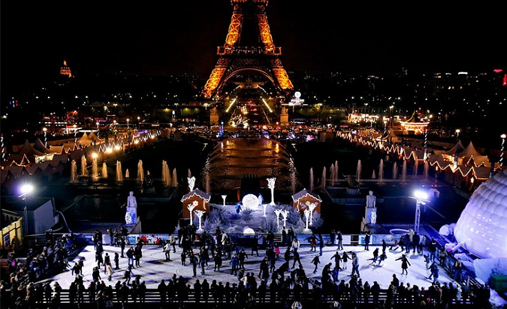 Top 10 Most Beautiful Christmas Skate Ice Rinks in the World