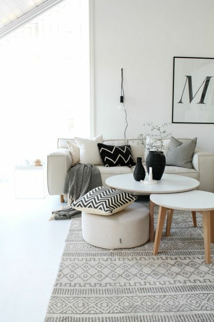Scandinavian Living Room Design Ideas 2016: Top 10 Tips On Creating A Scandinavian Interior At Home
