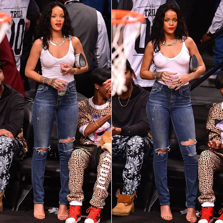 Top 10 Best Celebrity Outfits at The NBA Games