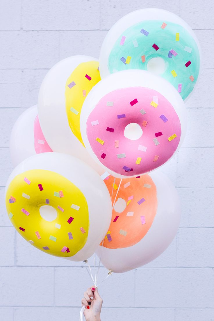 Donut-Balloons