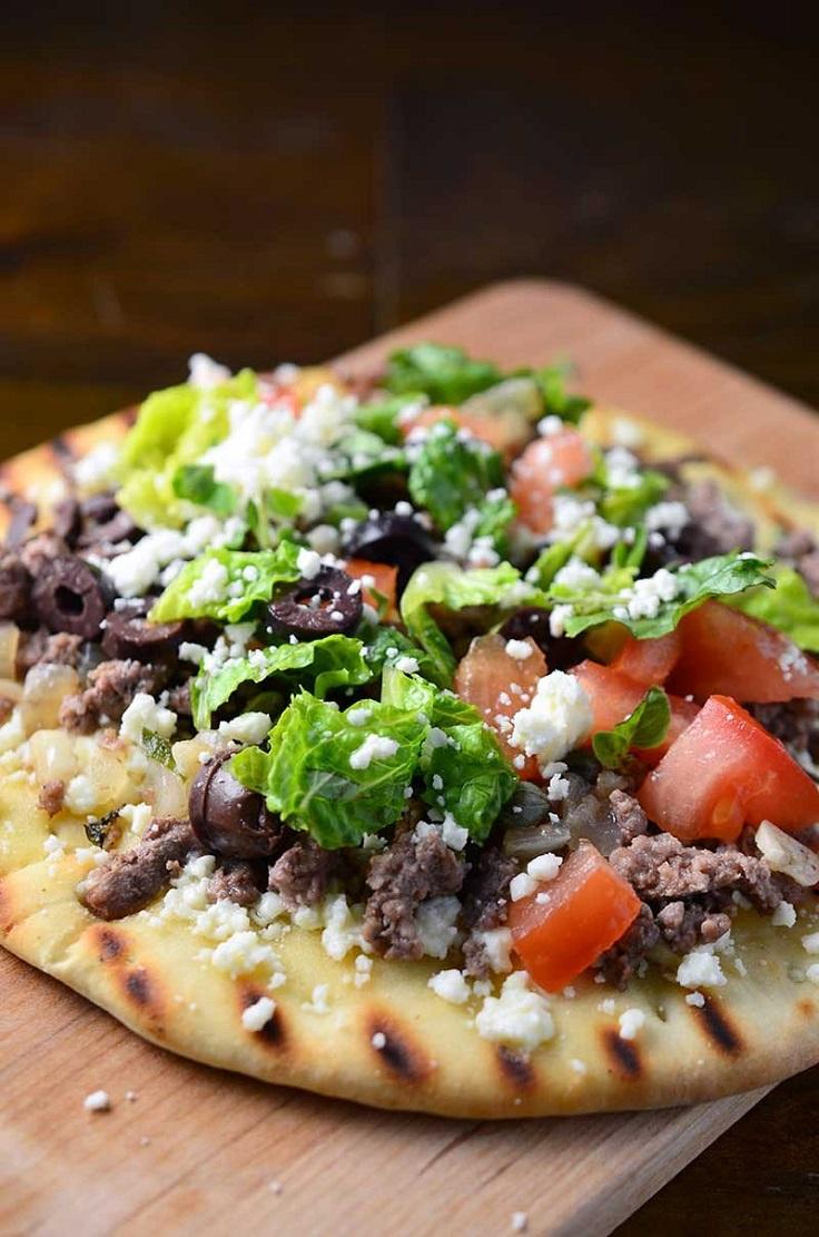 Grilled-Greek-Flatbread-Pizza