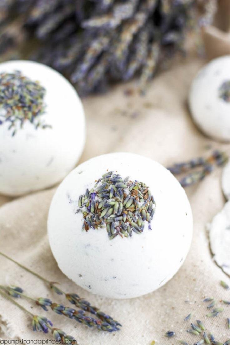 Lavender-Bath-Bombs