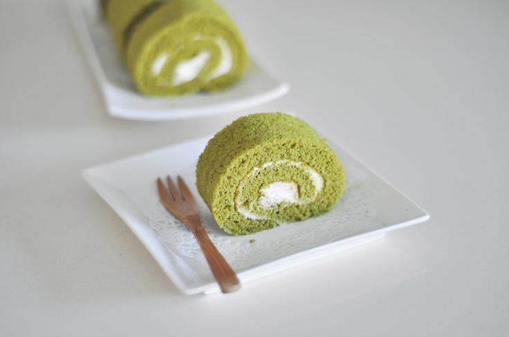 Matcha-Roll-Cake