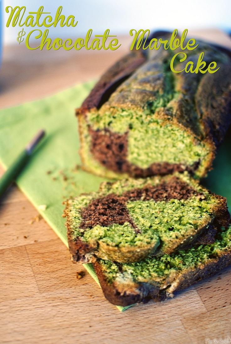 Matcha-and-Chocolate-Marble-Cake