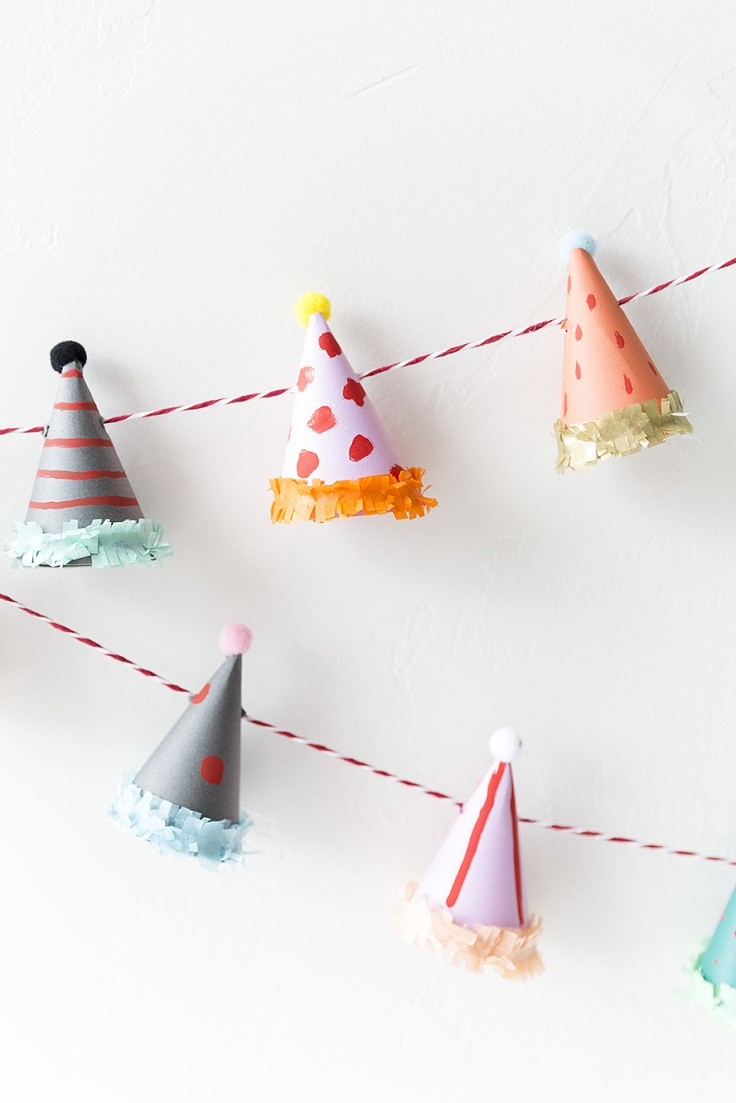 Party-Hat-Garland