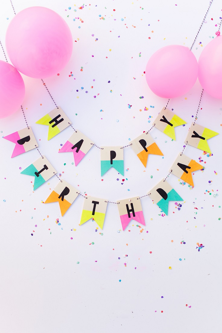 Top 10 DIY Decorations For a Birthday Party