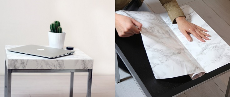 Top 10 DIY Marble Faux Decorations