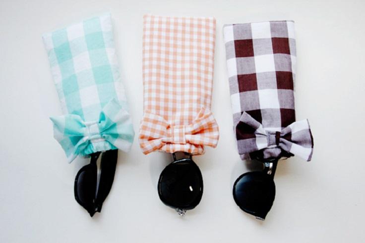 Top 10 DIY Adorable Sunglasses Case Ideas