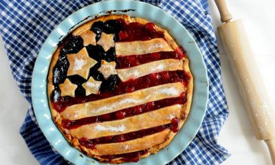 Cherry and Blueberry Pie