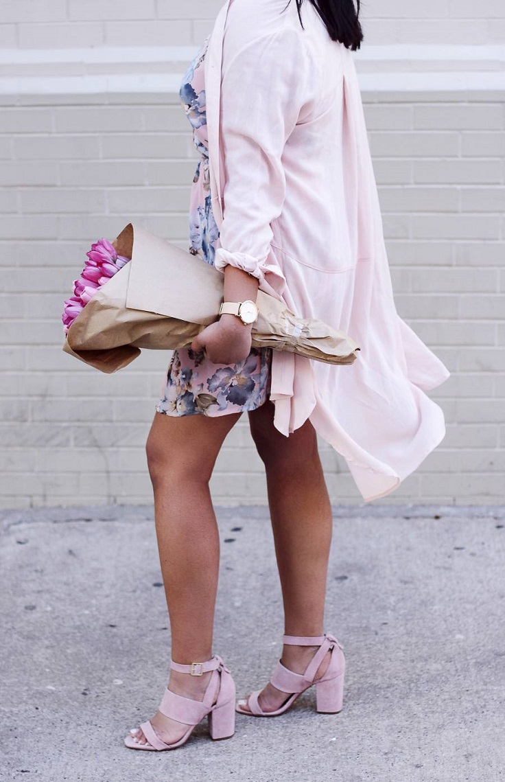 Top 10 Outfit Ideas on How to Wear the Color of the Year - Rose Quartz