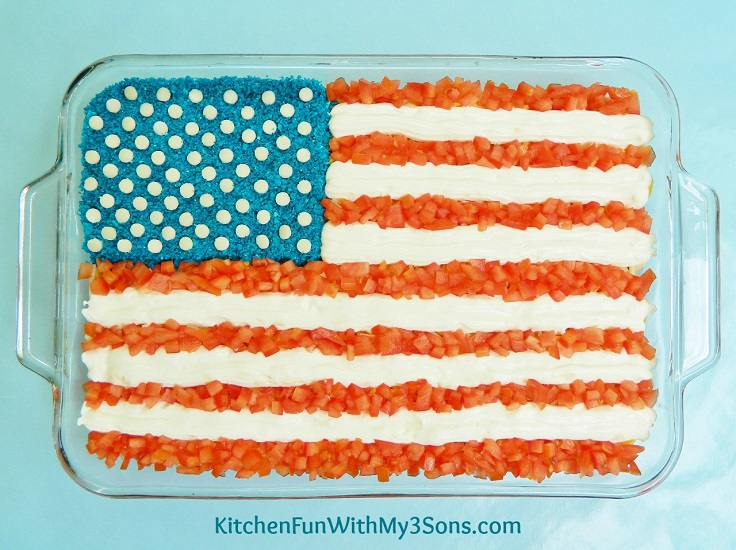 Seven-Layer-Flag-Dip