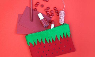 Strawberry Pencil Pouch