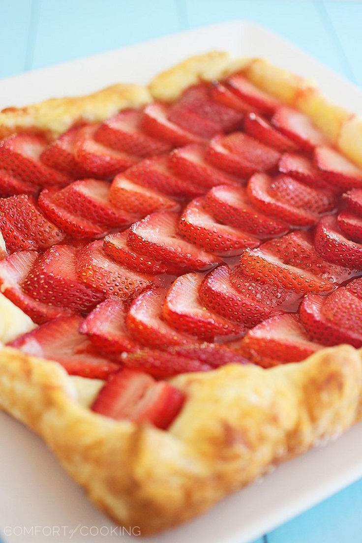 Strawberry-Tart-with-Lemon-Whipped-Cream