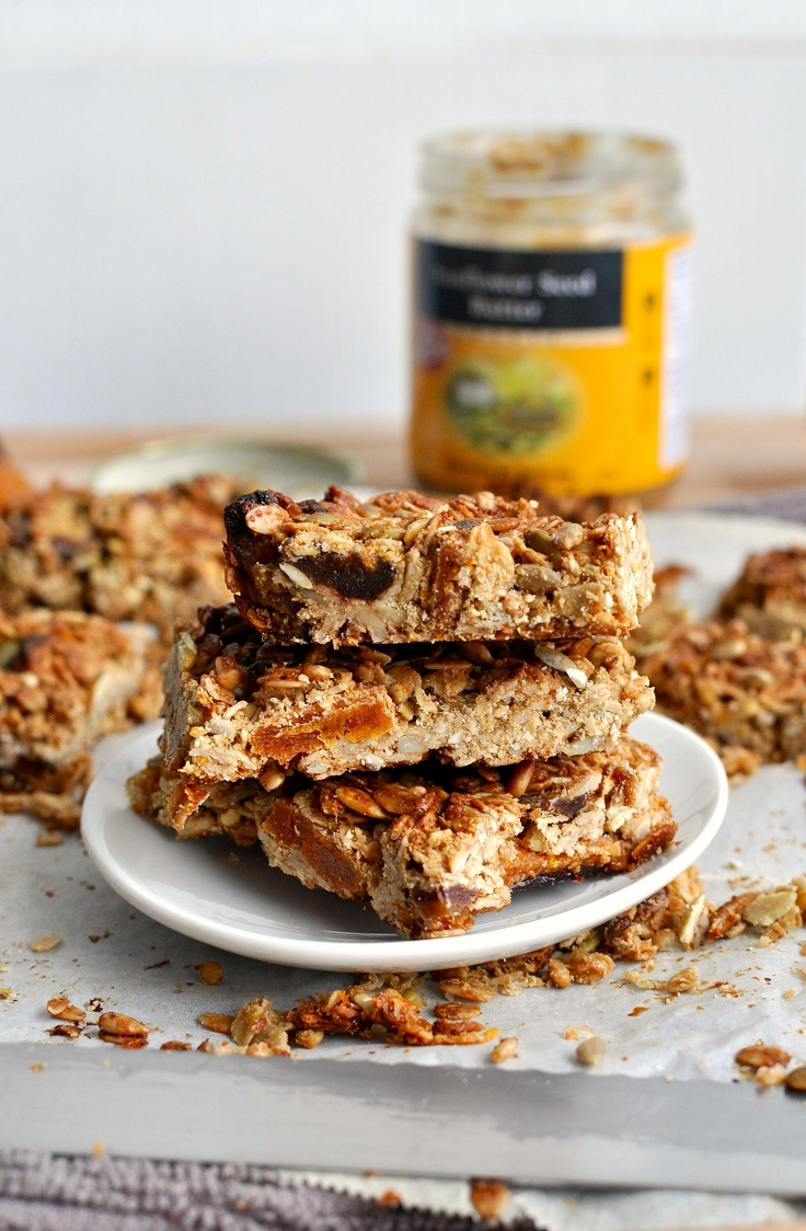Apricot-Sunflower-Granola-Bars