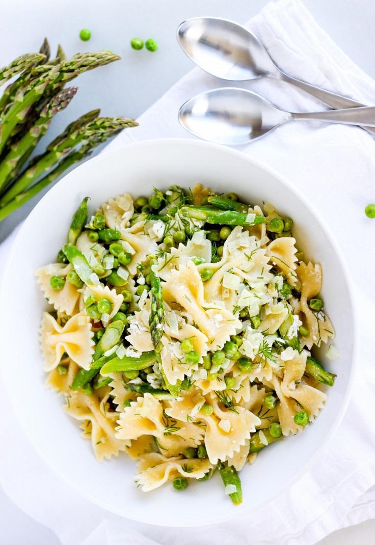 Asparagus-Pea-Pasta-Bowl