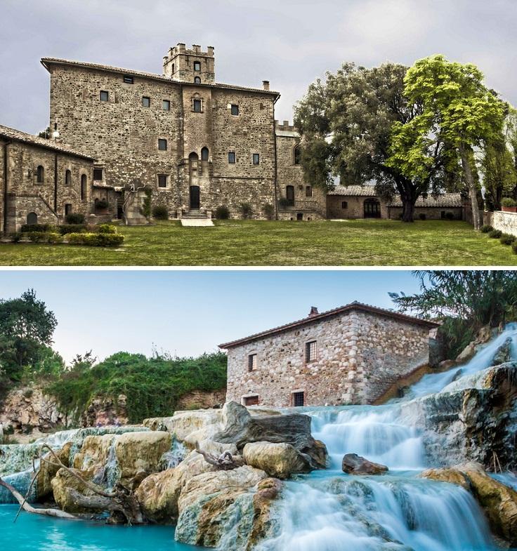 Castel-Porrona-Tuscany-Italy