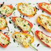 Cheese and Herb Stuffed Mini Peppers