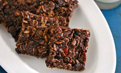 Chocolate Coated Muesli Bars