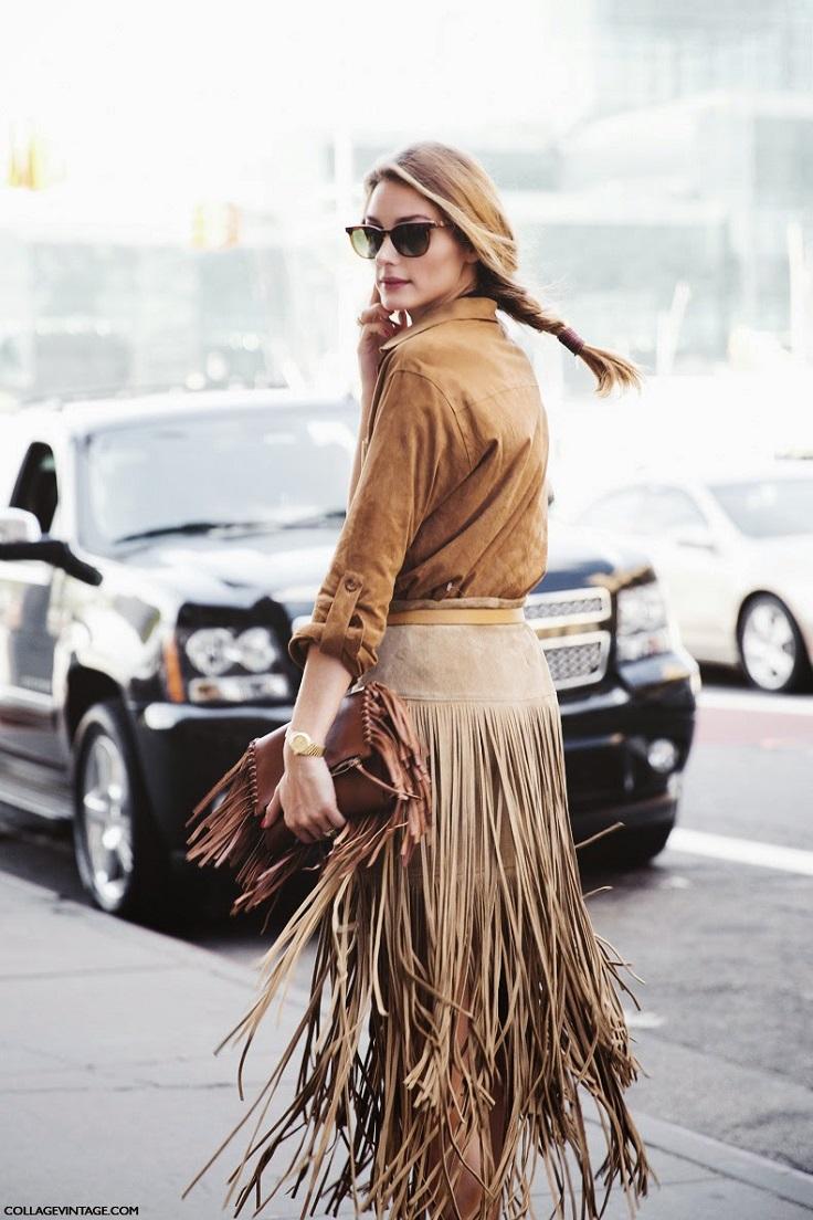 Fringed-Skirt