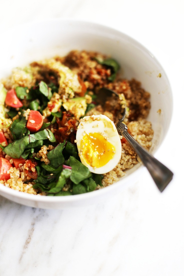 Kimchi-Grains-Greens-Bowl