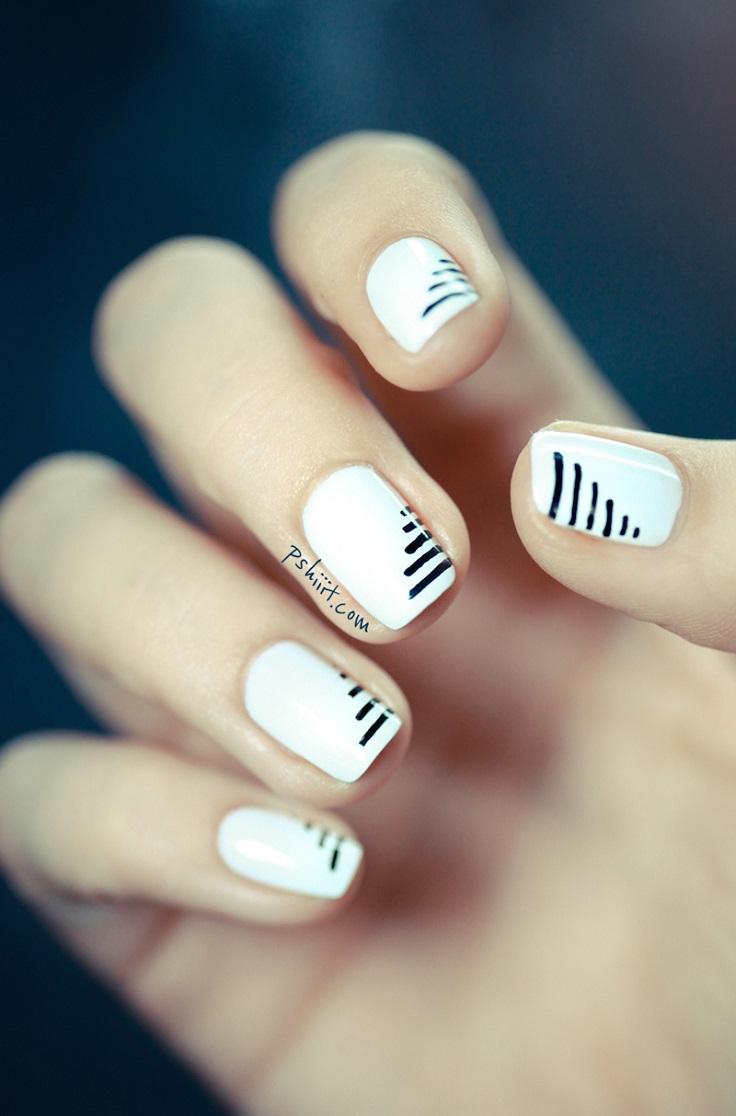 Top 10 super easy minimalist nail art ideas top inspired top 10 super easy minimalist nail art ideas prinsesfo Gallery