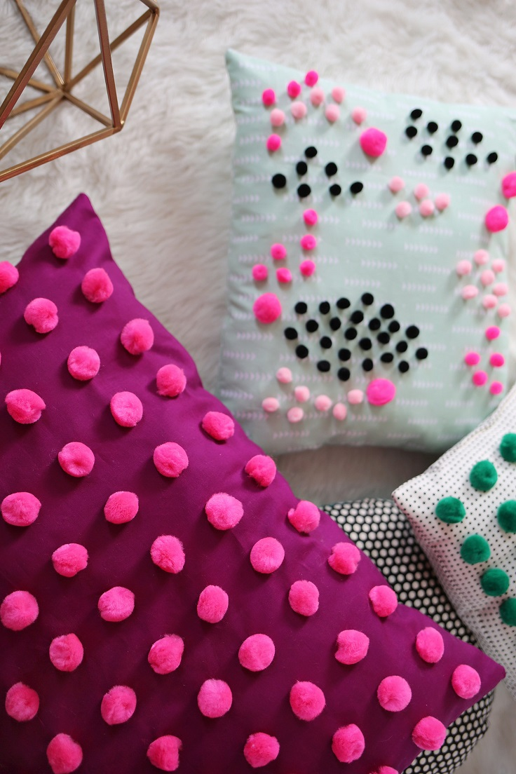 Top 10 DIY Pretty Projects with Pom Poms