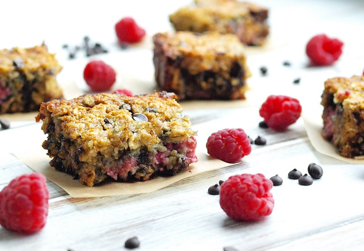 Raspberry-Chocolate-Chip-Bars