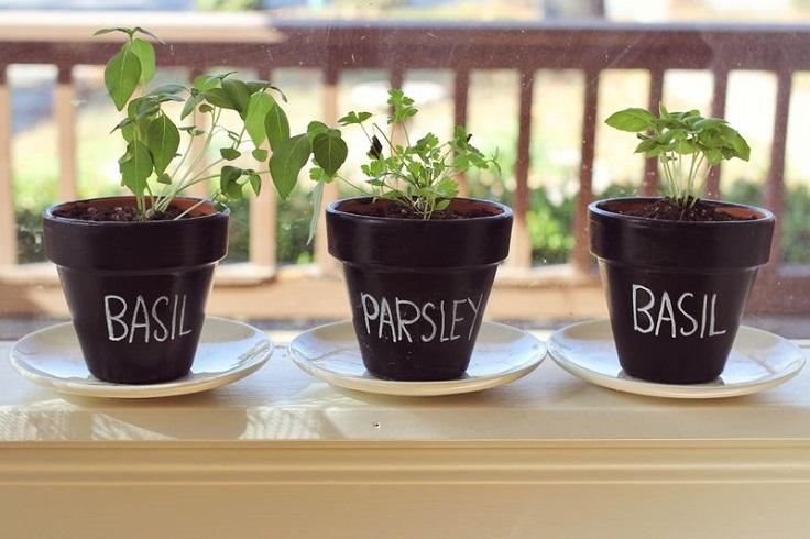 Chalkboard-Planters