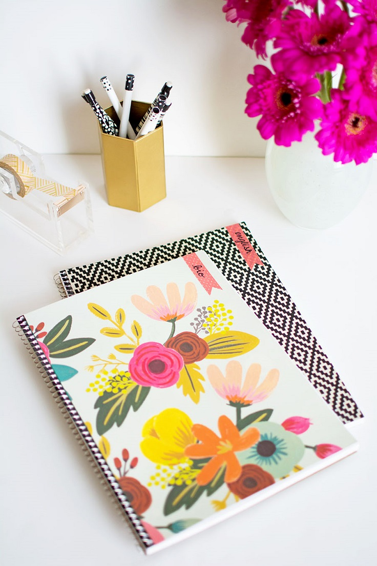 Top 10 DIY Back to School Notebooks for Your Children