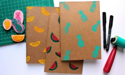 Fruity Print Notebooks