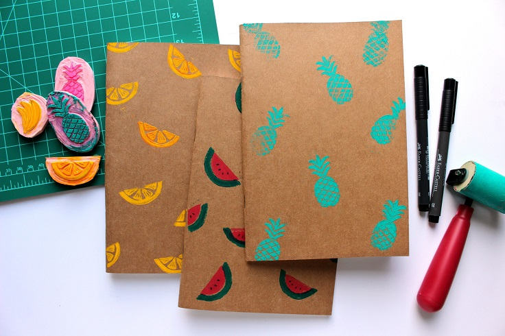 Top 10 diy back to school notebooks for your children for Back to school notebook decoration ideas