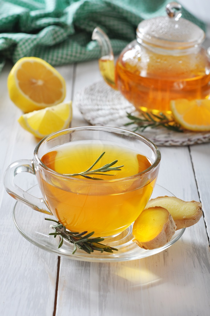 Gimger tea