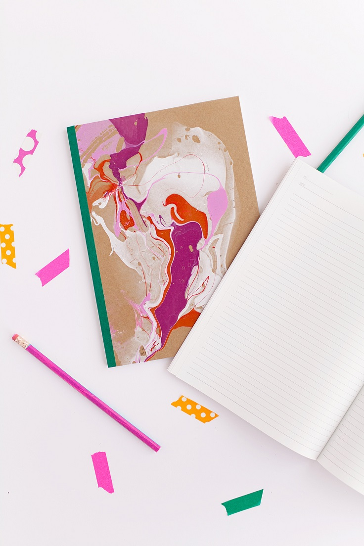 Marbled-Notebook